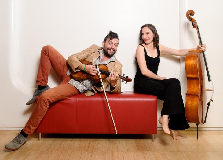 Chris Moore with Zoe Knighton MEDIUM horizontal - by SarahWalker