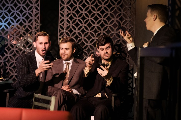Company 12 - Alexander Morgan, Brendan Paul, Lincoln Elliott, Michael McPhee - photo by Clare Hawley