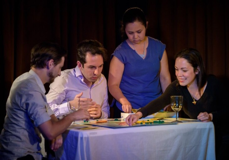 Monopoly production shot