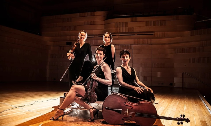 Enigma Quartet 2020 colour publicity photo